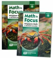 7th Grade Math in Focus Semester 2 7B Student Teacher Edition Course 2 Kit 7