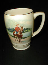 Bovey Pottery Kingston Ontario Souvenir ROYAL CANADIAN MOUNTED POLICE Mug/Cup