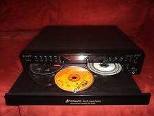 Sony 5 Compact Disc Disc Changer CDP-CE375 Carousel CD Player Works Great