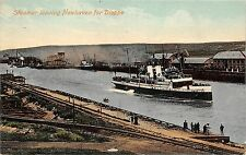 BR63593 steamer  leaving newhaven for dieppe ship bateaux    uk
