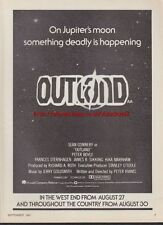 Outland Cinema 1981 Magazine Advert #2429
