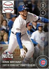 Topps NOW 613A: Kris Bryant Starts the Scoring in NL Pennant Clinching Win