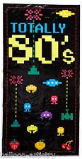 5ft Totally 80's Retro Gamer Door Cover Banner Party Hanging Wall Decoration