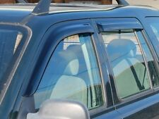 Freelander 1 Wind Deflector Kit (front and rear) - DA6077