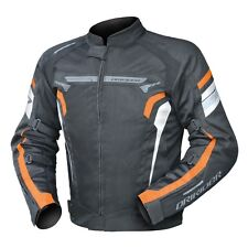 L Mens DriRider Air Ride 4 Jacket KTM Orange Black Dri Rider Summer Vented Mesh
