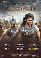 BAHUBALI: THE BEGINNING (2015) PRABHAS, RANA, TAMANNA - BOLLYWOOD HINDI DVD
