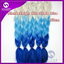 "24"" Ombre Dip Kanekalon Jumbo Braid Hair Extensions Best Quality"