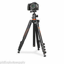 Vanguard VEO 265AB Aluminum Lightweight Travel Tripod Kit w/ Ball Head Arca Q/R