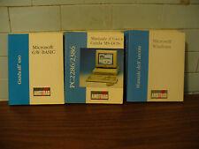 3 manuali per computer Amstrad PC2286-2386