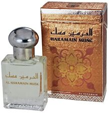 Haramain Musk Al Haramain Perfume Oil Attar with White Musk and Sandalwood 15ml