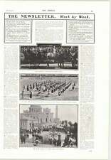 1905 West India Regiments Band Sunderland Doxford Launch Fiasco Romford Airship