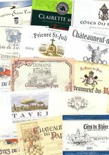 2000 WINE LABELS - VERY BEAUTIFUL LOT NEW IN PERFECT CONDITION - FREE SHIPPING