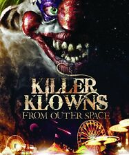 Killer Clowns From Outer Space NEW DVD