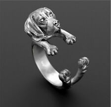 Beagle Dog Ring Puppy Lovers Adjustable Super Cute Fashion Jewelry AR-39
