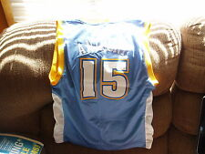 DENVER NUGGETS CARMELO ANTHONY REEBOK  BASKETBALL JERSEY SIZE MED YOUTH