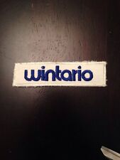 Vintage Wintario Sew-on Embroidered Patch Ontario Canada Lottery Gambling