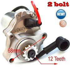 Starter Motor 50cc 70cc 90cc 110 125cc Engine 2 bolt  ATV Quad Dirt Bike Go Kart