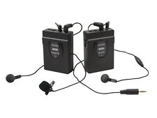 2.4GHz 2-Way Wireless Microphone System (with Hip Clips & Camera Mount)