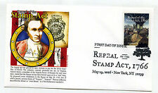5064 Repeal of the Stamp Act, 1766, Panda Cachets, pictorial cancel FDC