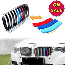 M Color Kidney Grille Cover Stripe Clip BMW 3 Series GT F34 2013-2015 11 SLATS