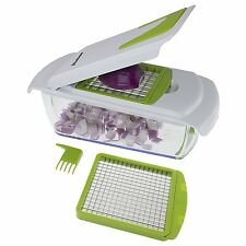 Freshware KT-402 2-in-1 Onion Chopper, Vegetable Slicer, Fruit and Cheese Cutter