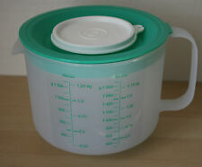 Tupperware Mix & Store Batter Bowl 8 Cup / 2 Qt Measuring Pitcher New