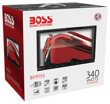 "New Boss BV9755 Double Din 7"" Touchscreen DVD/CD/MP3 Receiver Low $"
