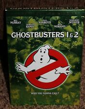 GHOSTBUSTERS 1 & 2 double feature gift set SCRAPBOOK 2-disc DVD collectible AYKR
