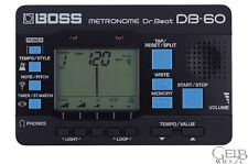 Boss DB-60 Dr. Beat Digital Metronome - DB-60
