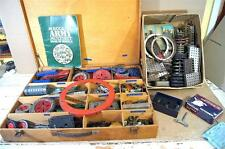 MECCANO PRE & POST WAR CONSTRUCTION SET PARTS & MOTORS JOB LOT mz