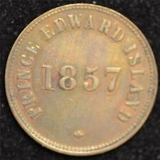 1857 Canada Token, Self Government and Free Trade Almost Uncirculated w/luster