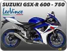 TERMINALE DI SCARICO LEOVINCE GP-STYLE INOX SUZUKI GSX-R 600 / GSX-R 750 06   07