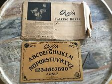 1920 Rare Find Baltimore Talking Board OUIJA w/ Original Envelope ADIEU