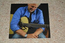 DAVID KNOPFLER signed Autogramm CD Cove In Person  DIRE STRAITS