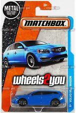 VOLVO V60 WAGON #8 blue - 2016 Matchbox - M Case -
