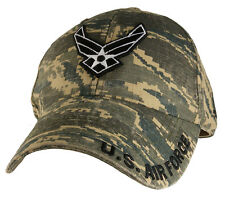U.S. Air Force Insigna Hat - USAF Digital Camo Baseball Cap 6396
