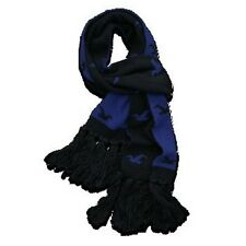 NWT Hollister By Abercrombie & Fitch Classic Scarf Knit Navy Blue Women New