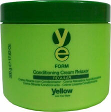 YELLOW FORM CONDITIONING CREAM RELAXER REGULAR 500 G / 17.63 OZ