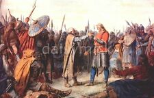 Viking Norse The Crowning of Olaf Tryggvason of Norway 7x5 Inch Print