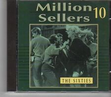 (FX924) Million Sellers, Greatest Hits Of The 60's - 1992 CD