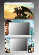 How to Train Your Dragon 2 Hiccup Astrid Toothless Game Skin for Nintendo 3DS XL
