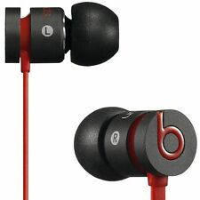 urBeats By Dre Beats In-Ear 3.5mm Headphones With ControlTalk Black Red New