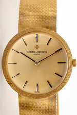 Vintage $15,000 Vacheron & Constantin 18k Yellow Gold 34mm Mens Dress Watch 90g