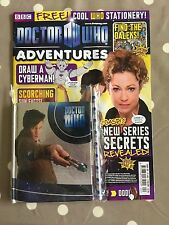DOCTOR WHO ADVENTURES MAGAZINE Issue 202 With Free Gifts - Free Postage