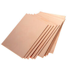 10pcs One-Side Copper Clad 70x100x1.5mm Single FR4 PCB Circuit Kit Board DIY New
