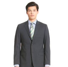 $1299 RALPH LAUREN Men GRAY slim-fit SUIT JACKET WOOL SPORT COAT BLAZER US 38 R