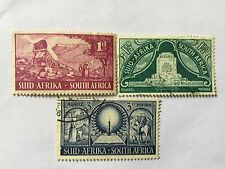 1949 South Africa Nice Stamps Set. SC 112-114