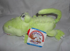 """Crazy Critters Rolling Laughing Alligator 15"""" Sound Plush Toy Stuffed Animal"""