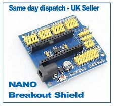 Arduino NANO  UNO Breakout Shield I/O Expansion Adapter