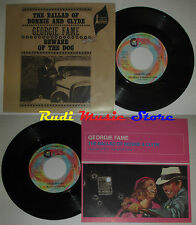 LP 45 7' GEORGIE FAME The ballad of bonnie clyde 1999 italy RED RONNIE *mc dvd